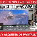 empresas pantallas LED TENERIFE SUR Islas Canarias empresa venta led led