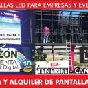 venta de pantallas led ISLAS CANARIAS TENERIFE sur arona adeje